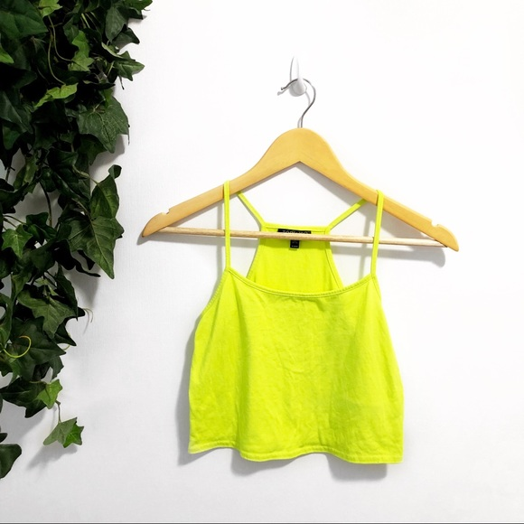 Topshop Tops - 3/$25 🌵 TopShop Neon Crop Top